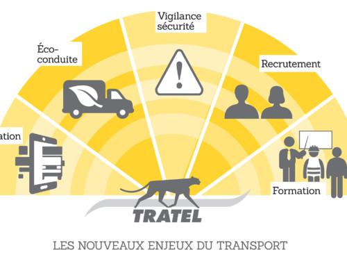 Les métiers du transport chez Tratel